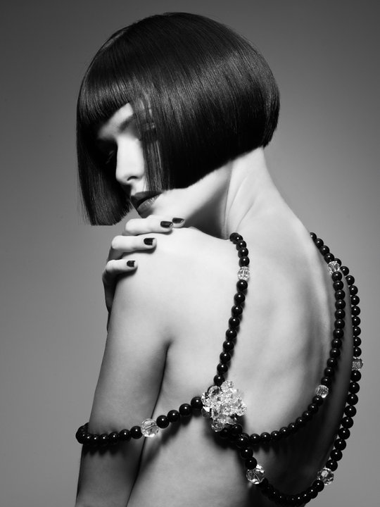Фото черно белое стрижки