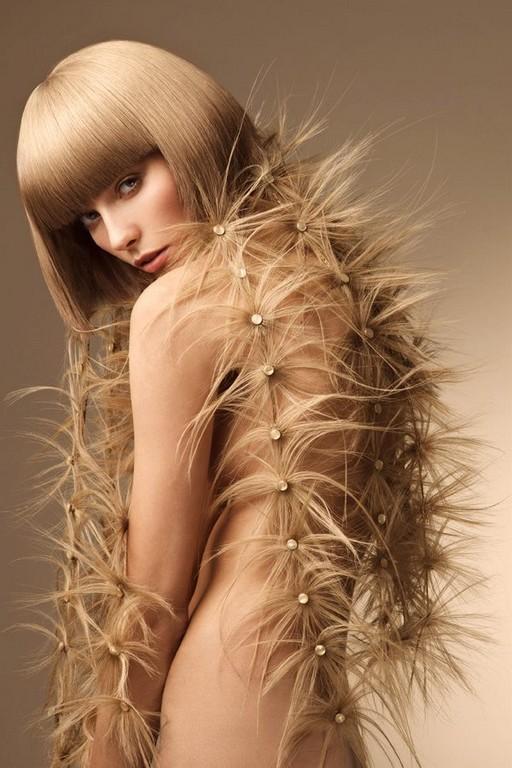необычные прически на длинные волосы фото