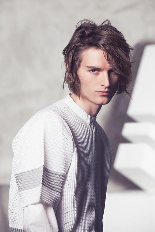 Björn Axén коллекция весна/лето 2014 Day Gathering | Hairtrend