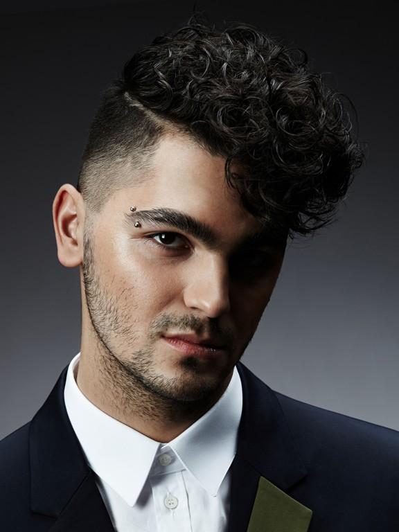 Как сделать кучерявые волосы мужчинам 356