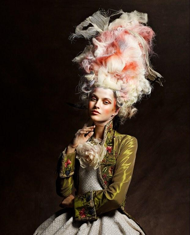 прически 18 века фото их стилизация
